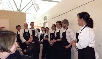 Pop Up Dinner at Dublin Cookery School