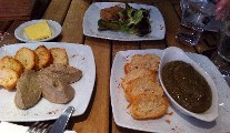 Restaurant Review - Lunch French, Italian and Irish style