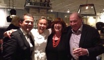 Cookery Book Launches - Rick Stein, Chapter One, Lynda's Table......