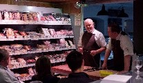 Pat Whelan Butchery Skills Demo at Avoca Monkstown