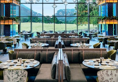 The Grill Restaurant at The Dunloe Hotel & Gardens