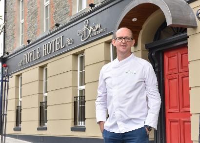 The Foyle Hotel by Chef Brian McDermott